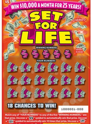 A $3 million winning scratch-off lottery ticket was sold at a Westlake Village retailer, officials said Friday.