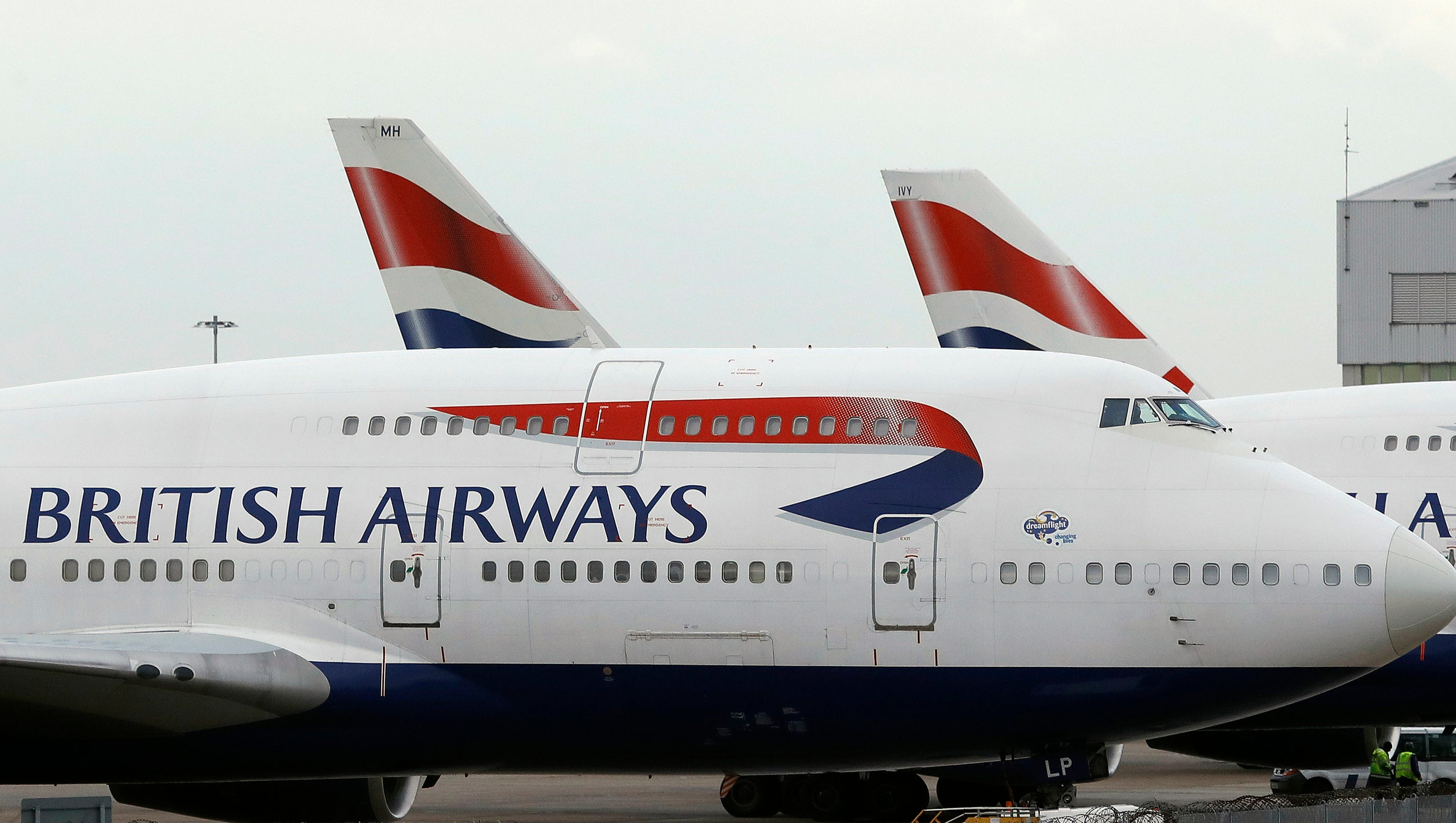 British Airways outage cancels flights from London's Heathrow, Gatwick