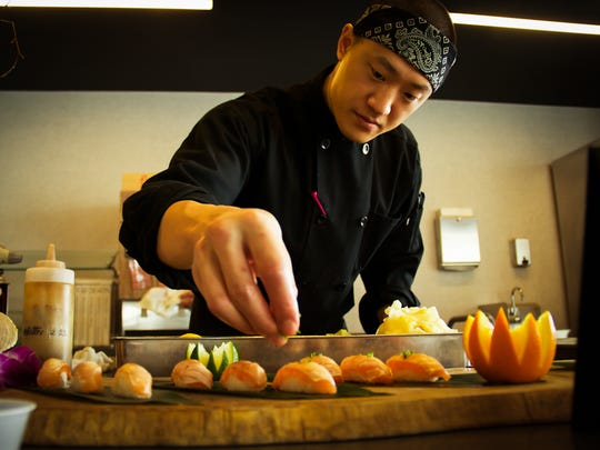 Itadaku chef/owner Mike Han aims to open his fast-casual sustainable sushi concept in Detroit's Corktown neighborhood by November 2016.
