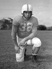 John Michels helped the Vols forge one of the greatest running games in the history of the sport. The 1951 season brought the Vols their first consensus national championship as Michels' blocking helped UT gain 3,068 yards on 40 touchdowns on the ground.