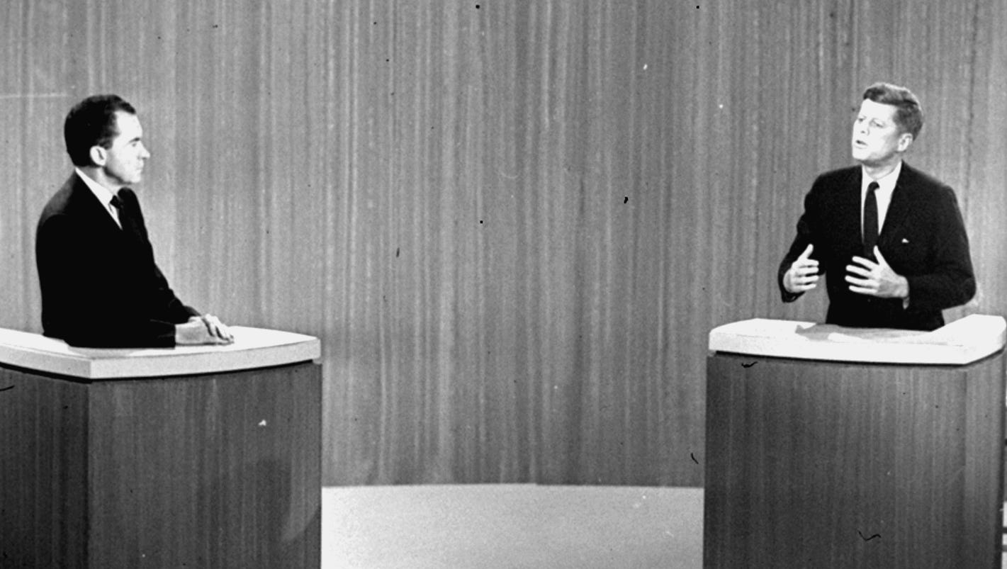 kennedy nixon debate analysis The first televised presidential debate on 26 sep 1960 pre-empted the andy griffith show, was watched by over 65-70 million viewers, and is widely credited with erasing richard m nixon's lead over john f kennedy in the race to succeed dwight eisenhower.