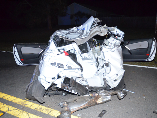 One dead, one seriously injured in high speed crash in Palm Bay