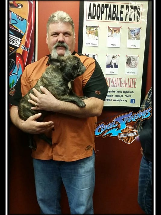 Harley GM Jason Butler & Buddy.jpg