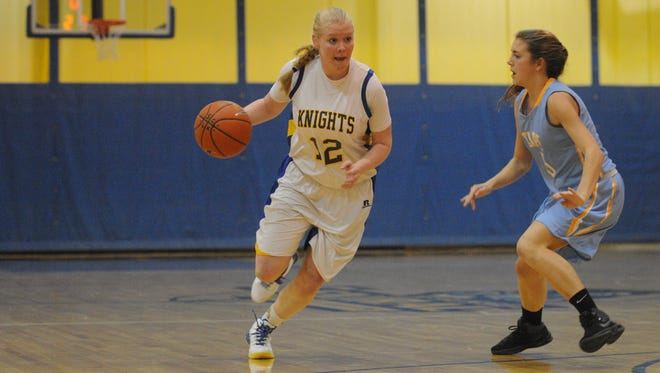 Central's Emily Truitt drives the lane against Cape on Jan. 14 in Georgetown.