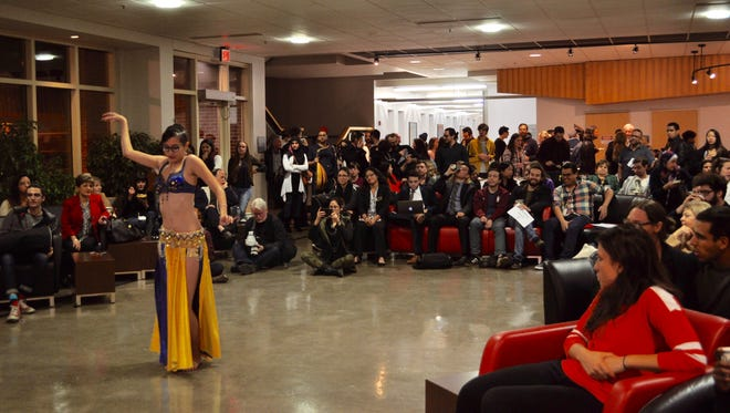 Guests at the Arab Women Film Festival were treated to cultural dances, food and of course, film.