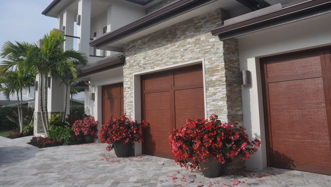 The Antigua was just finished in the new Sorrento neighborhood of Miromar Lakes.