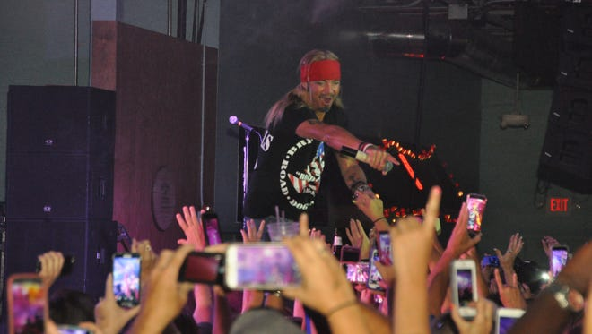 Bret Michaels rocks the crowd at The Ranch. The Poison frontman performed there on April 22.