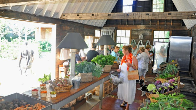 Blue Barn Market at 78 Orange Turnpike in Sloatsburg is open from 9 a.m. to 2 p.m. Saturdays and Sundays