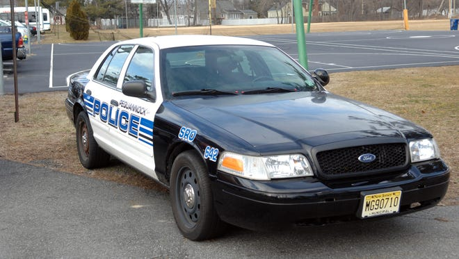 Pequannock Police Department vehicle.