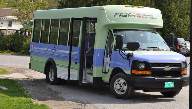 "Smaller buses with more flexible route options — like this one seen in Addison County — might serve some Vermont communities better than larger, fixed-schedule vehicles, say advocates of on-demand ""microtransit."""