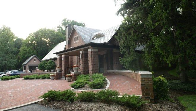 Govenor's Residence Dinner, pictured on July 22, 2010.