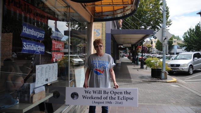 Court Street Dairy Lunch owner Marlene Blanchard will be open for weekend service this Saturday and Sunday, an occurrence almost as rare as a total eclipse.