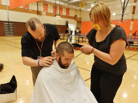 "Cumberland Regional High School ""Novem-Beard"" participants"