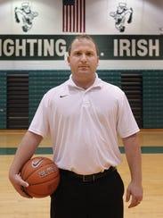 Girls basketball coach Sam Young