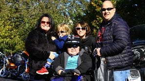 Danny Garofalo, of Middlesex Borough, pictured here in the center when he was 12, passed away after a lifelong battle with Duchenne Muscular Dystrophy on July 12.