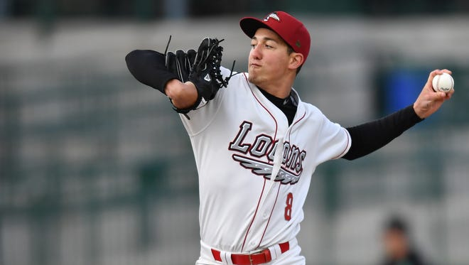 Left-hander Garrett Harrison is a 22-year-old pitcher for the Great Lakes Loons in the Midwest League. It is his first full season of pro baseball after signing with the Los Angeles Dodgers organization in August after his junior season.
