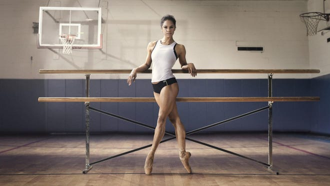 Misty Copeland, American Ballet Theatre's first African-American principal dancer, stars in Under Armour commercials.