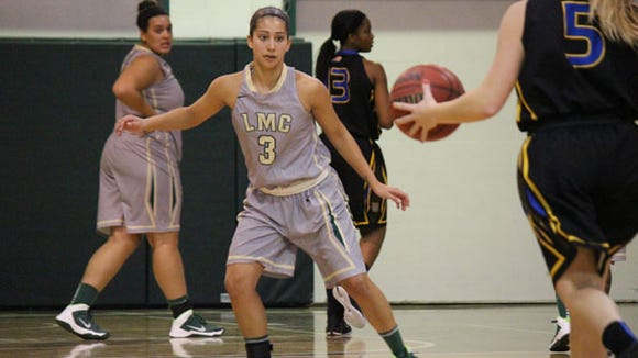 Asheville High alum Niroska Perez is a sophomore for the Lees-McRae women's basketball team.