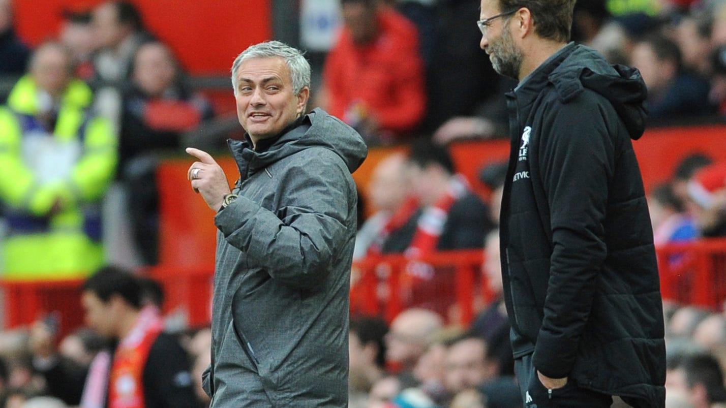 Rashford double helps United beat Liverpool 2-1 in EPL