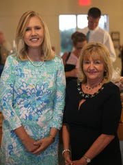 Jill Burton and Phyllis Leclercq