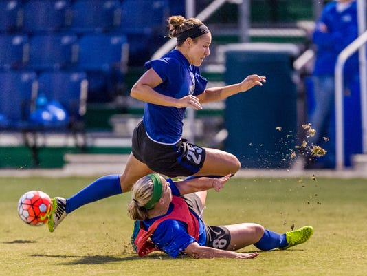 FGCU Soccer Scrimmage 08/05/2015