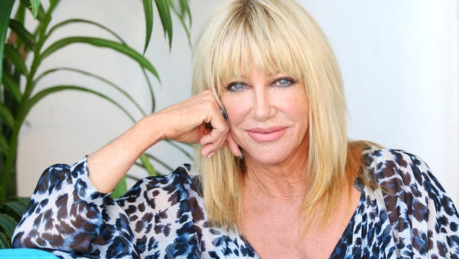 Marilyn Chung/The Desert Sun Suzanne Somers says she is determined to pursue a residency at the Plaza Theatre in Palm Springs following a sold-out show Saturday at the McCallum Theatre