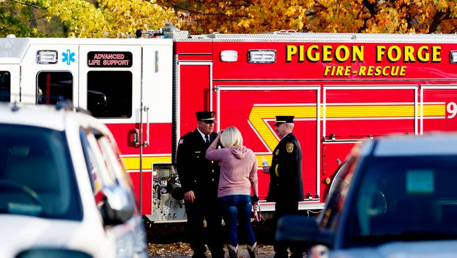 File | Pigeon Forge firefighters
