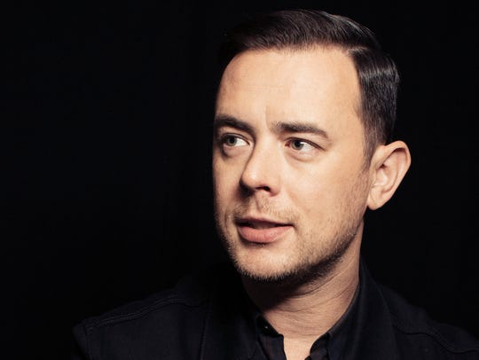 In this Oct. 26, 2016 photo, Colin Hanks poses for