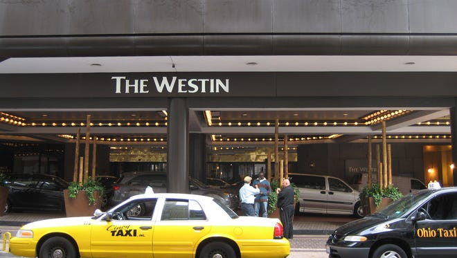 The parking garage located under the Westin Hotel in downtown Cincinnati will close Friday for a major renovation.