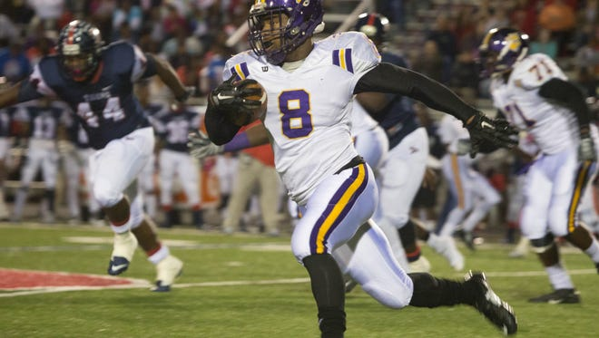 Columbus junior running back Kylin Hill jumped into the top 10 of the Targeted 22.