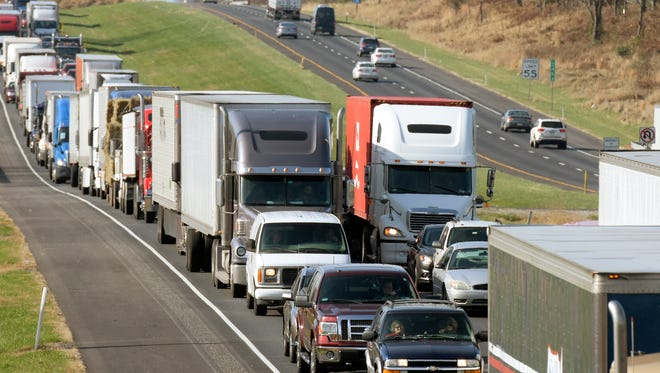 Diesel engines are a large contributor to the decline of air quality.  Bill Kalina - bkalina@yorkdispatch.com