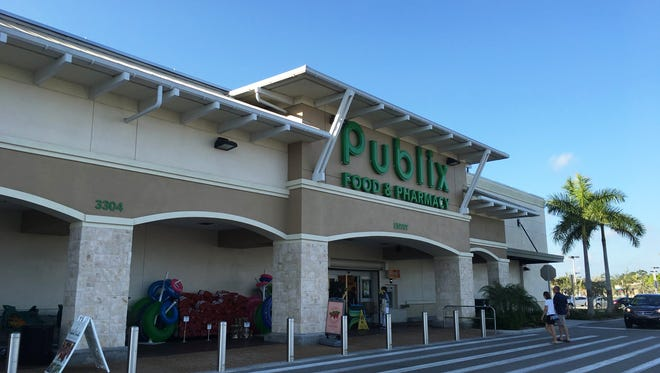 FILE - The Publix anchoring the shopping center at the Bonita Beach Road and U.S. 41.