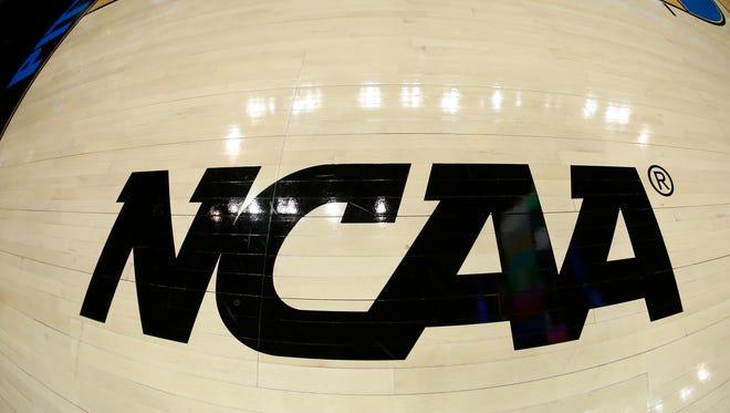 NCAA logo.
