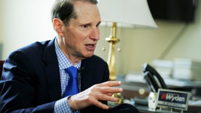 Senate Finance Committee Ranking Member Ron Wyden, D-Ore.