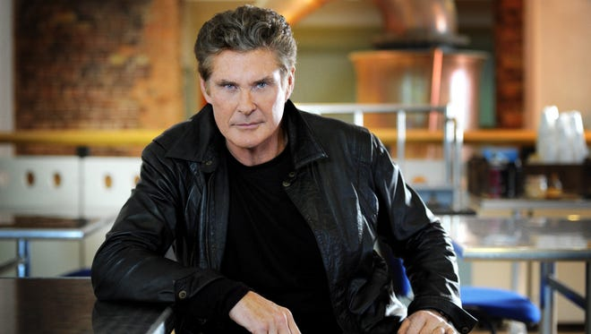 David Hasselhoff stars in 'Hoff the Record,' which he describes as 'Curb Your Enthusiasm' meets 'This Is Spinal Tap.'