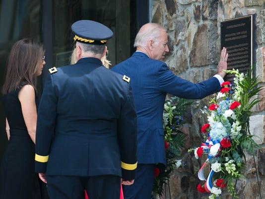 Beau Biden Dedication