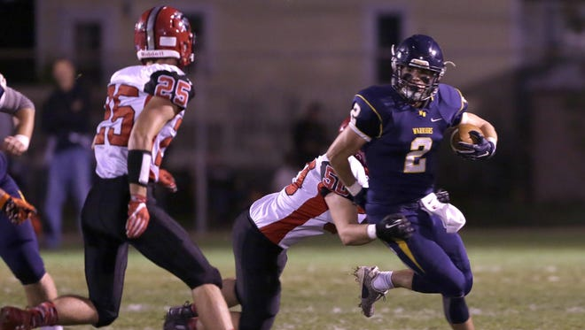 Wausau West's Mitch Michalske rushed for more than 200 yards in the Warriors season opener last Friday at Thom Field.