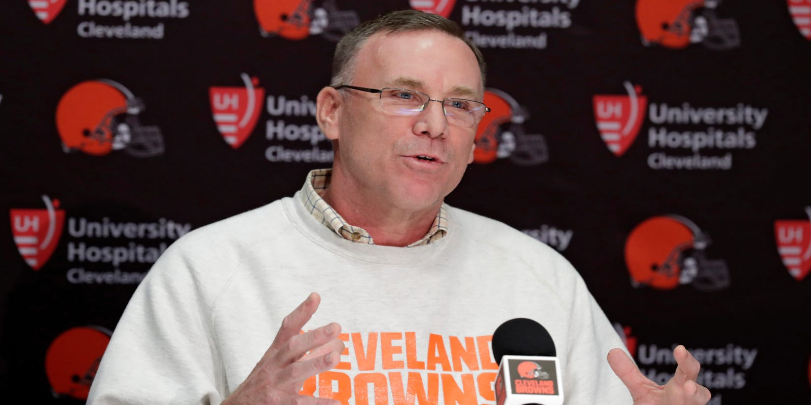 af63ea14 John Dorsey: Cleveland Browns' new head coach could be a woman