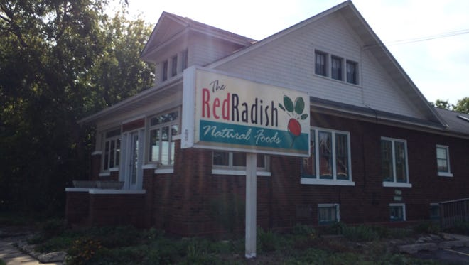 The former Red Radish building is one of the commercial spaces open to tour May 12.