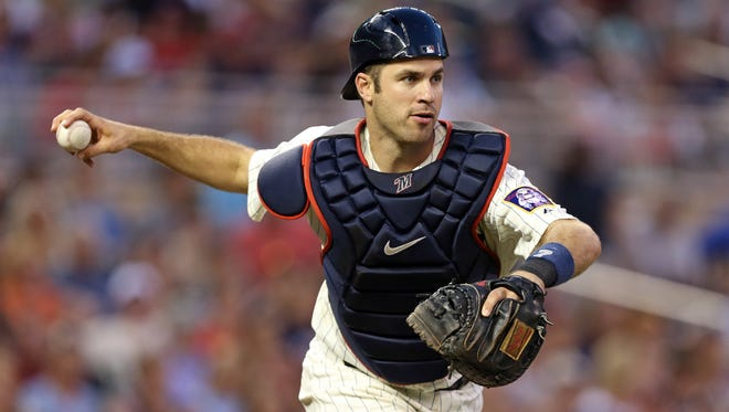 Joe Mauer may have played his last game at catcher, but he'll still qualify at the position in this season's fantasy drafts.
