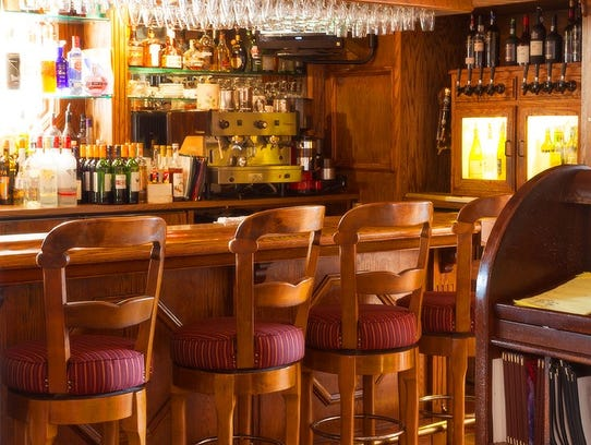 The bar at Adele's ini Carson City is a longtime gathering
