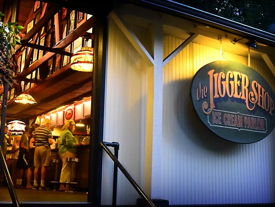 Located in historic Mt. Gretna the Jigger Shop, a restaurant