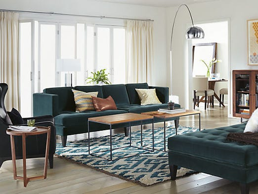 Room & Board | This is another luxury furniture store that sells modern classic home furnishings and accessories. Find real-deal Herman Miller pieces, including Eames loungers, plus classic walnut desks and shelving, sofas in luxury fabrics and more.