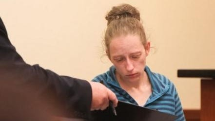 Rachael Bostian appeared in court in this file photo. Last week she plead guilty to multiple charges, including murder, in relation to the death of a 5-year-old earlier this year.