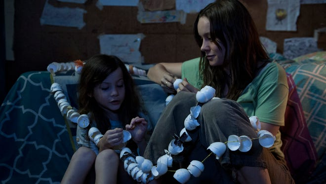 Jacob Tremblay is Jack and Brie Larson is Ma in 'Room,' which is based on the novel by Emma Donoghue.