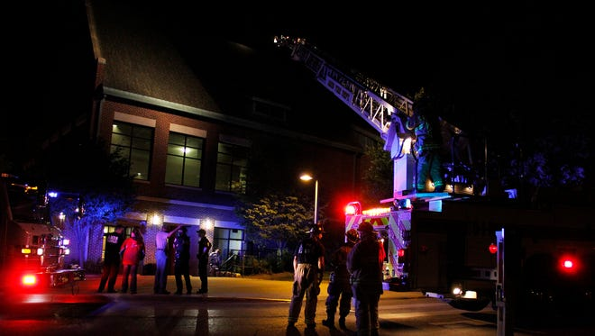 Fire crews were called to Union Drive Community Center to respond to a fire on Sunday, June 15.