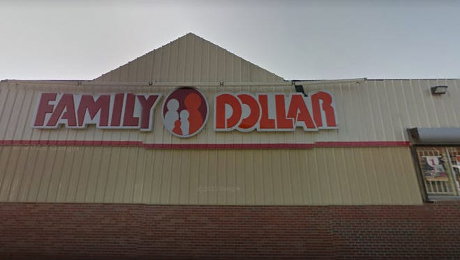 A woman was arrested Dec. 24, 2017 after allegedly shoplifting and then brandishing a utility knife at this Family Dollar in the 2300 block of W. Grand Blvd. in Detroit.