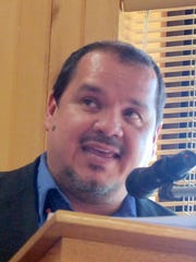 Juvenile probation officer Sergio Castro went over some of the goals of CHANGE.
