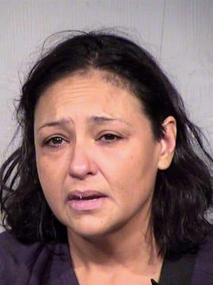 Mugshot of 42-year-old Myra Angle.
