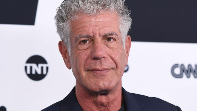 Anthony Bourdain, who was found dead Friday, is shown here attending the Turner Upfront 2017 at The Theater at Madison Square Garden on May 17, 2017 in New York City. / AFP PHOTO / ANGELA WEISSANGELA WEISS/AFP/Getty Images